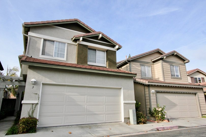 2 Storey single family homes with rooftop bonus rooms and double car garages at The Pointe