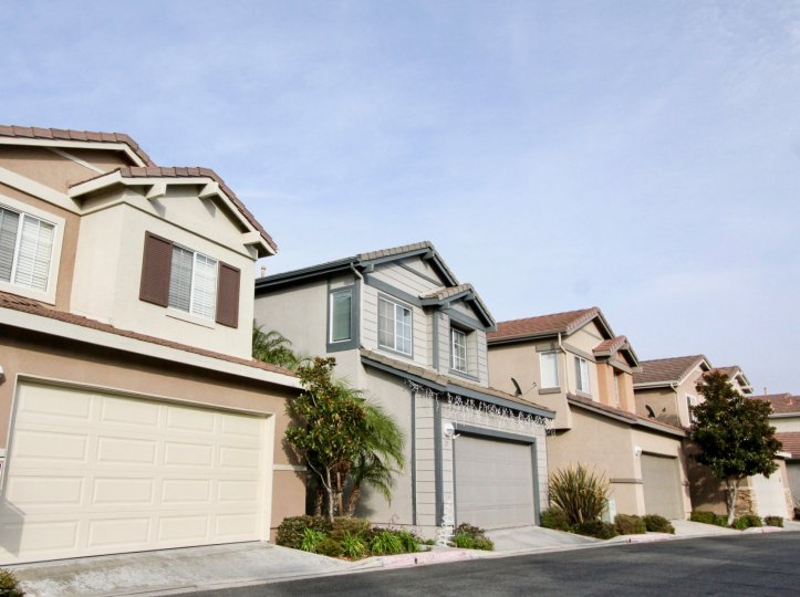 Single family homes with bonus rooms and double car garages on sizable lots at The Pointe
