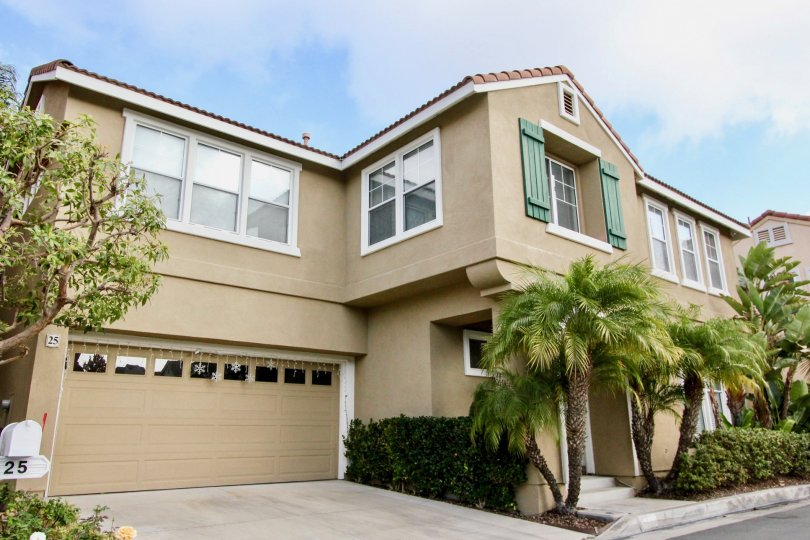 Beautiful apartments of Tibouron Community in Aliso Viejo, California