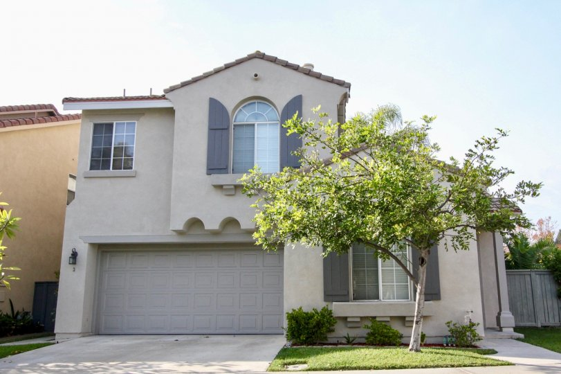 A cozy two story town home with built in garage at Village Cottages in Aliso Viejo CA