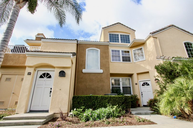 A luxurious home with three stories at Villas South in Aliso Viejo CA