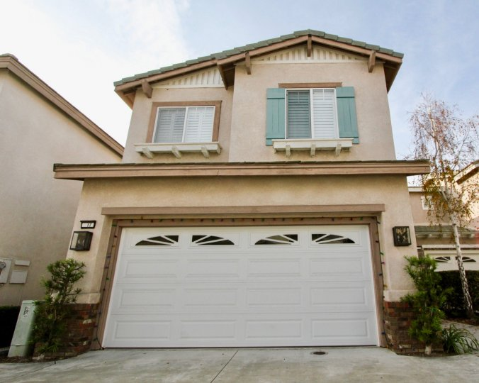 A home in the Vistas Plaza community in Aliso Viejo, California.