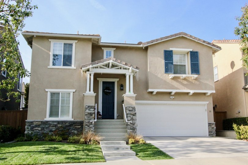 Beautiful two story house nestled in the Woodlands community, situated in the city of Aliso Viejo, California.