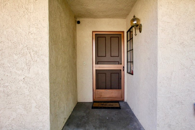 A door inside Cameron Court in Anaheim, California