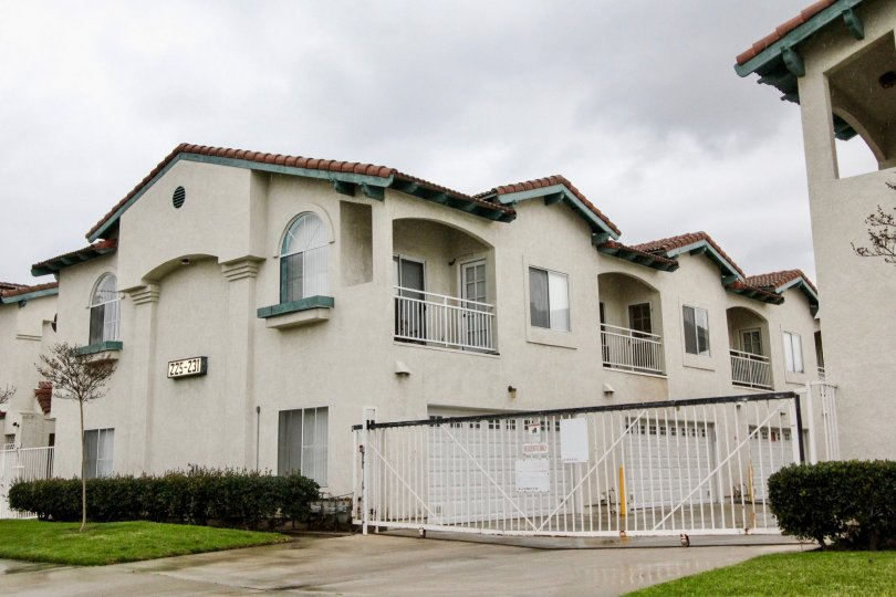 The private gated community of La Vie En Rose resides in Anaheim California.