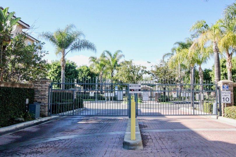 Peppertree Walk a Gated Community in Anaheim, Califronia