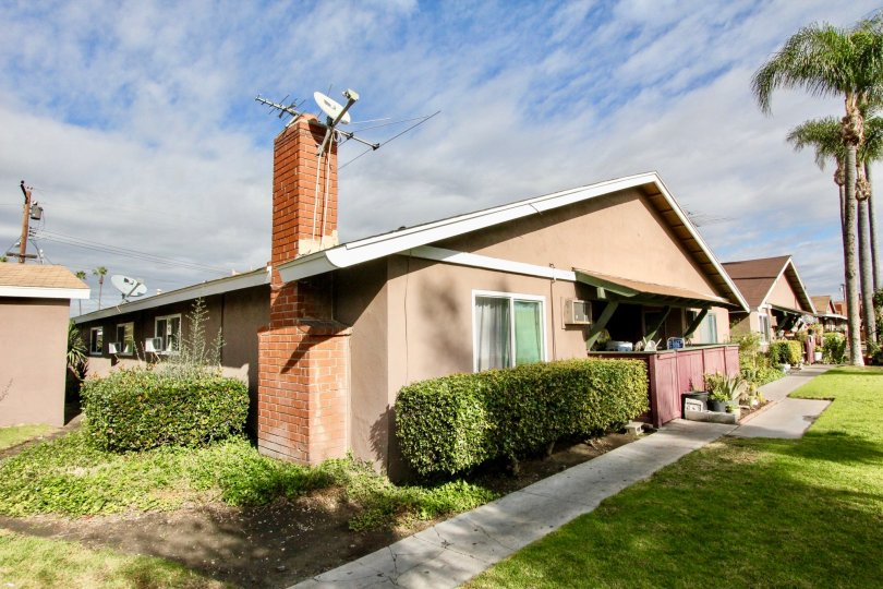 Westwood Village Location With attractive Beautiful Green Park at Anaheim City