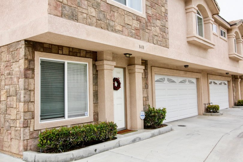 Excellent building having glass windows and parking place in Buena Villa Townhomes of Buena Park