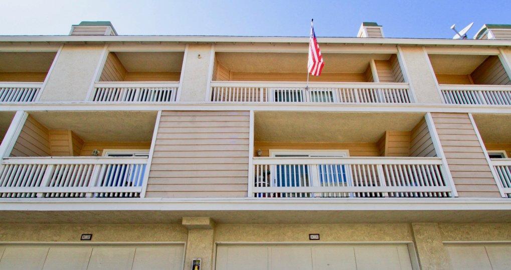 Bright and spacious decks at the Ocean Breeze Villas