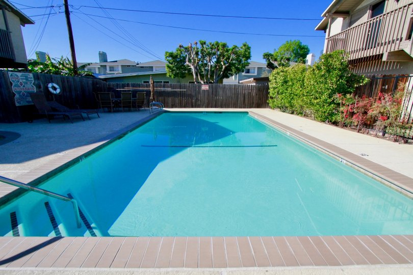 A house in Peppertree Heights with its glamorous swimming pool which is a perfect place to relax.