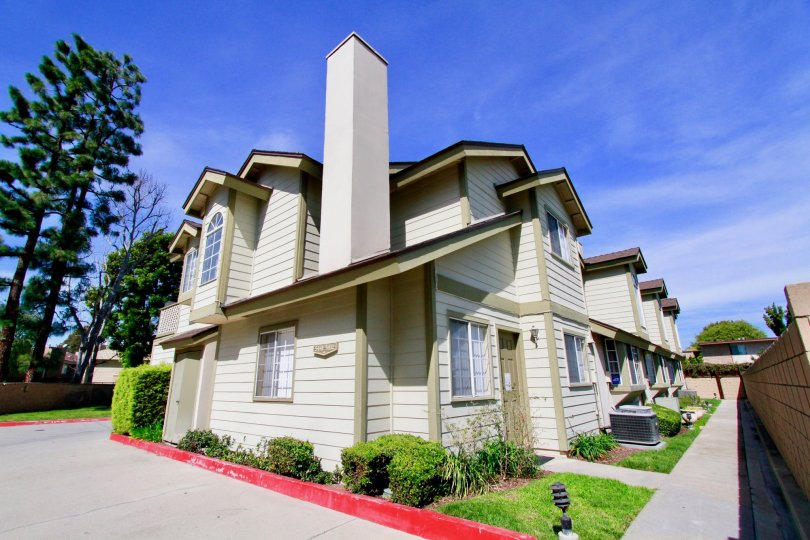 Sunny home in the Cambridge Commons community in Cypress, California.