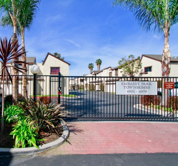 Majestic homes in Embassy Park Townhomes, Cypress City, California