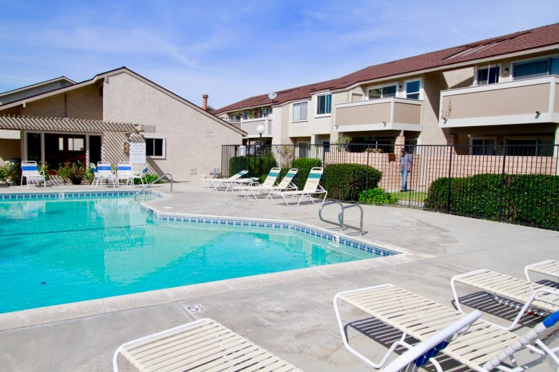 Big Neighborhood and Cool Apartments of Shady Glen, Cypress, California