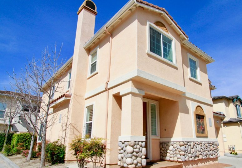 A majestic building in the Cove community, Cypress, California