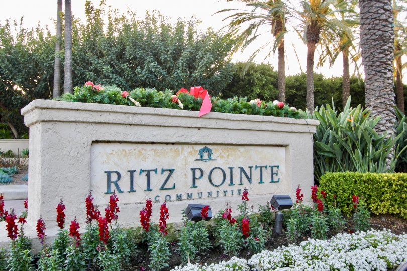 a warm day in the sea villas at st. regis with park that has named ritz pointe