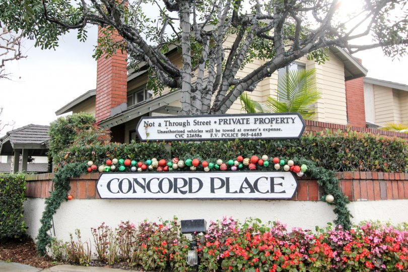 Concord Place Fountain Valley California suits for holiday enjoyment and relaxation during vacation