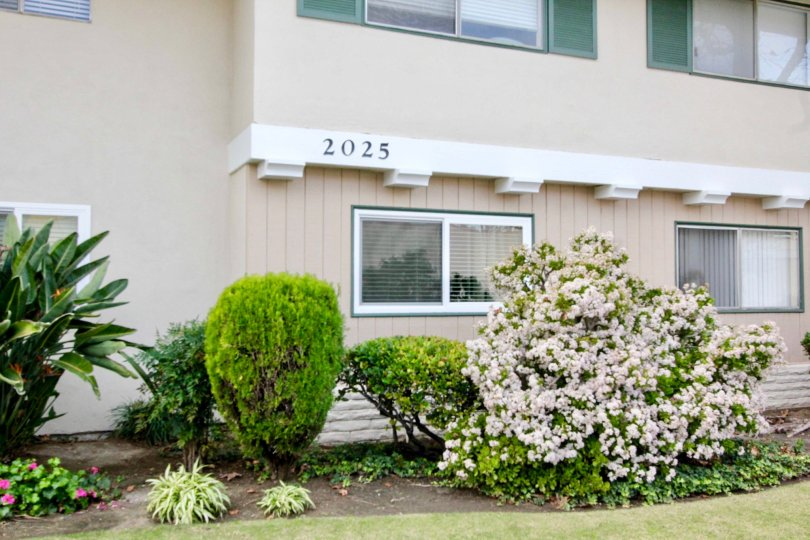 This is a picture of an Apartment Building Number in Fullerton, CA
