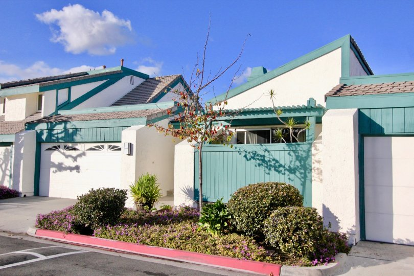 Bright and clean exterior at Garden Greens in Garden Grove, CA