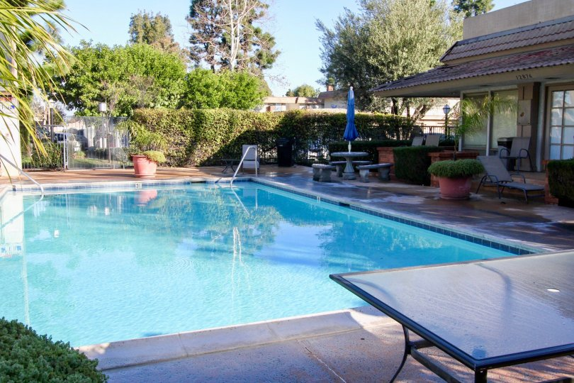 Swimming pool, Garden Park, California Garden Grove City garden park