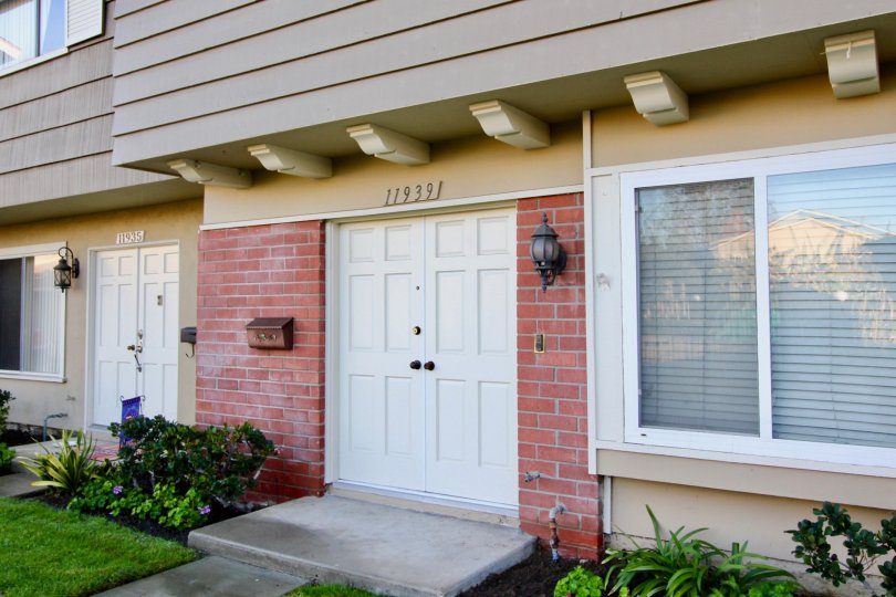 Brick details set this unit apart at Garden Valley in Garden Grove, CA