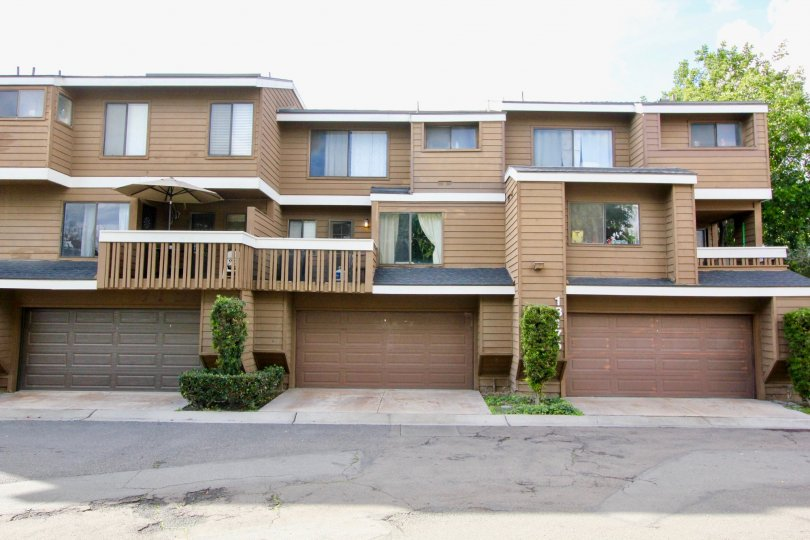 Enjoy a balcony, private garage, and 2 floors of living at Meadow Brook Village in Garden Grove, CA