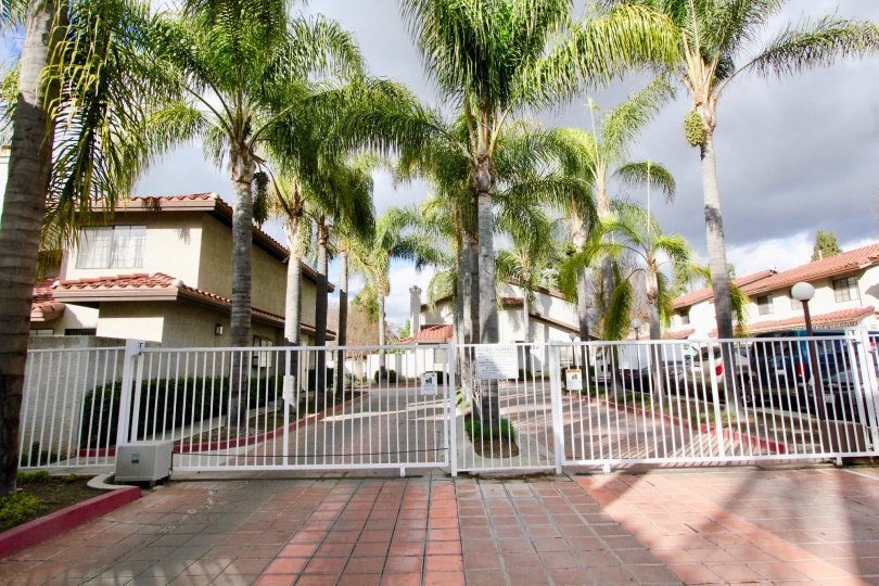 Regency Terrace, nestled behind security gate in Garden Grove California