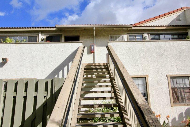 House at the Spring Garden Villas in Garden Grove with steps