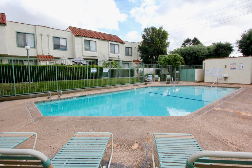 Strawberry Hill with swimming pool location view at Garden Grove