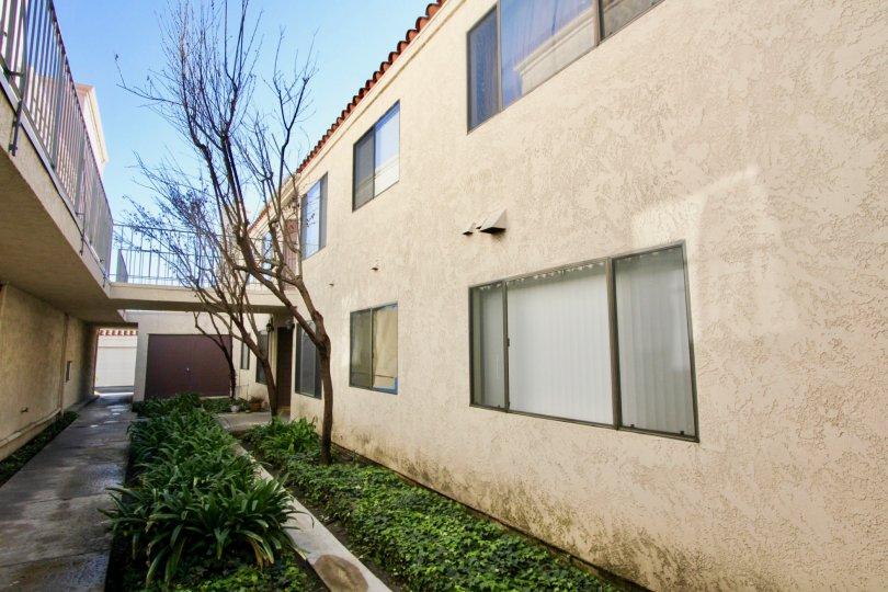 Villa Grande building having more beauty location of side view