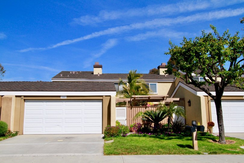 Beautiful home located in the community of Beachwalk near Huntington Beach, California.