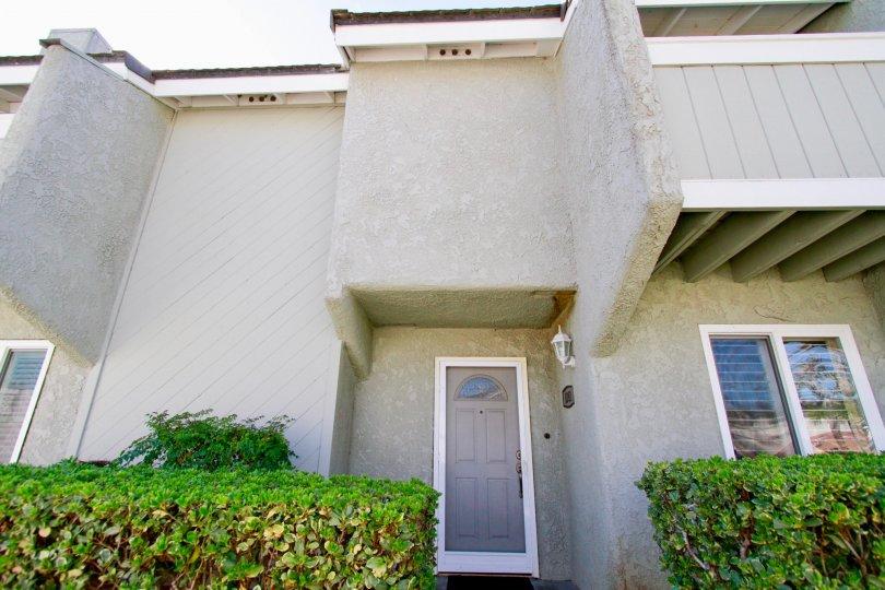 Cherrywood Village Huntington Beach California board like walls hanged at middle looks nice