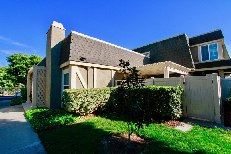 A beautiful, sunny day outside at the Gables community in stunning Huntington Beach, California.