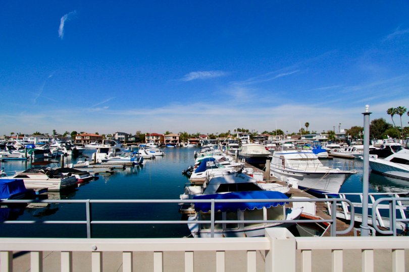Harbour Bay Club Huntington Beach California romantic bluish color divert everyone to its side