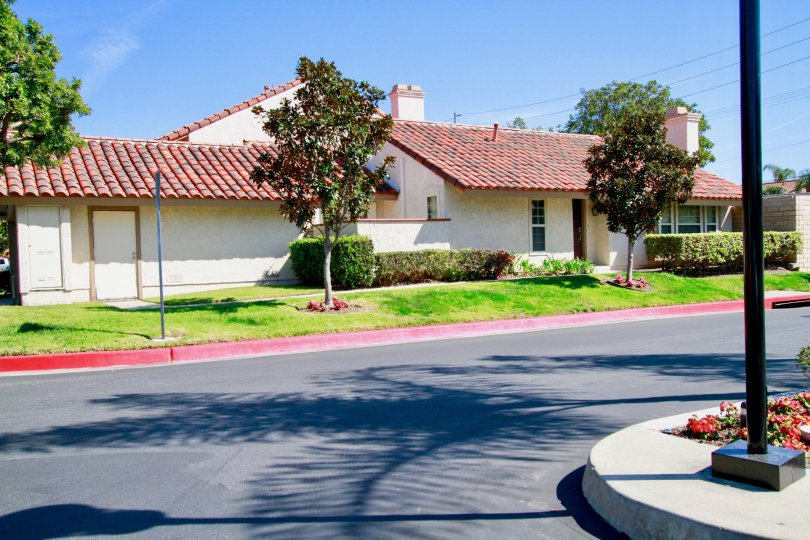 Excellent view of Villa with trees in La Cuesta By the Sea of Huntington Beach