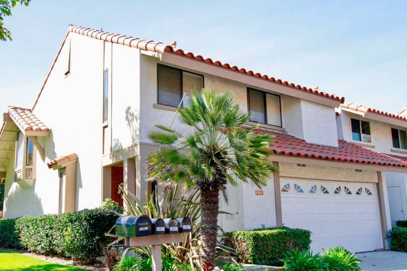 Excellent villa with nice lawn and palm tree in La Cuesta By the Sea of Huntington Beach