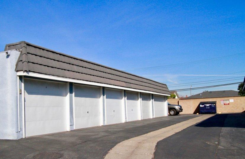Mariners Cove Huntington Beach California plain shaped long blocks with brown roof