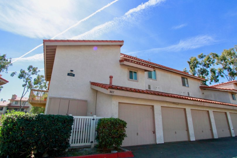 Cute Townhomes in Huntington beach California well maintained.