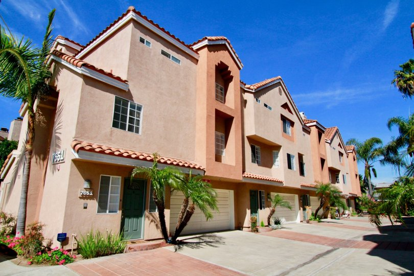 Spanish Style Villa Apartments with tropical surroundings located in Sunny Solimar community of Huntington Beach California