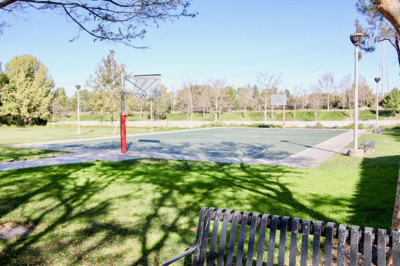 Aldea Playing Ground with green Garden of side location