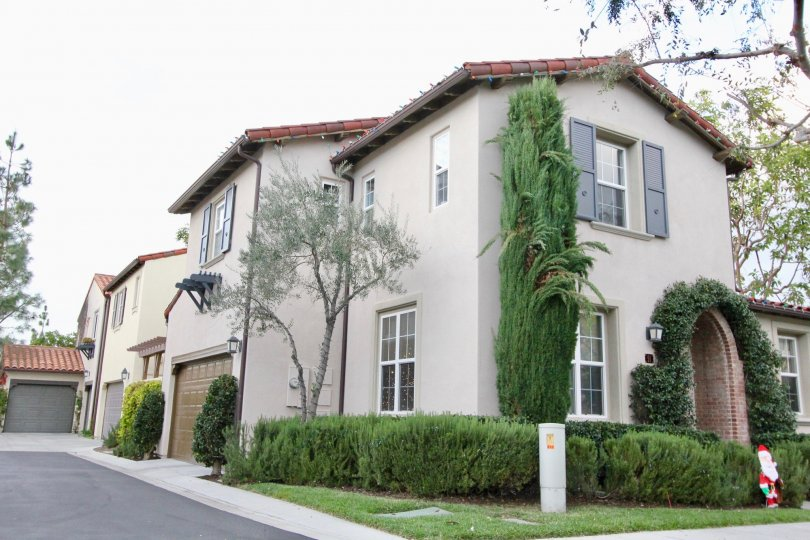 A couple of large two story town homes located inside Chantory in Irvine California
