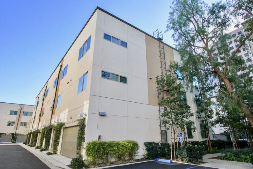 Granville Building location having attractive at irvine city
