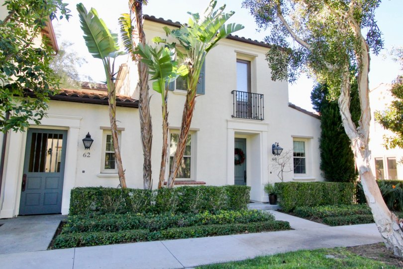 Mature trees and impeccable landscaping make this Irvine, CA community a must see!