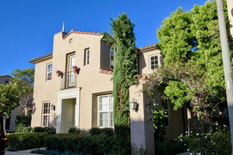 Pinkish Castle in Mericort Community, in Irvine California