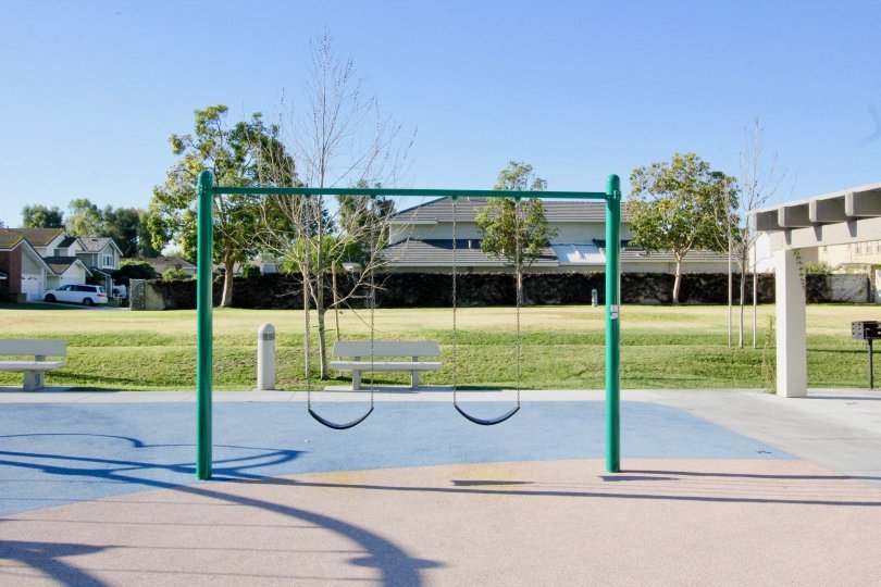 Beautiful children park area in Parkside of Irvine