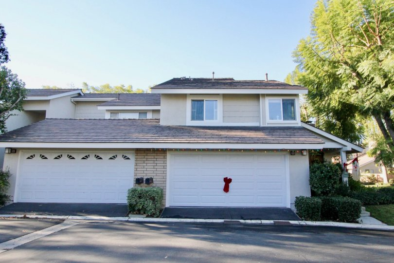 Spacious looking villa with trees around in Parkside of Irvine