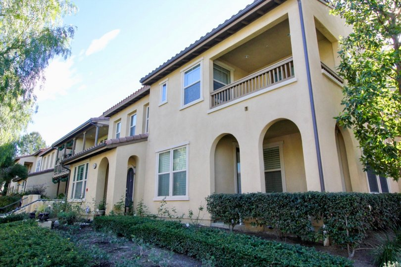Spanish style condominium in Sendero community Irvine, CA
