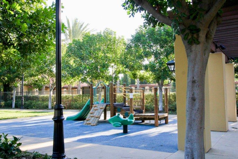 Children's Play area in the Tamarisk Community at Irvine, California