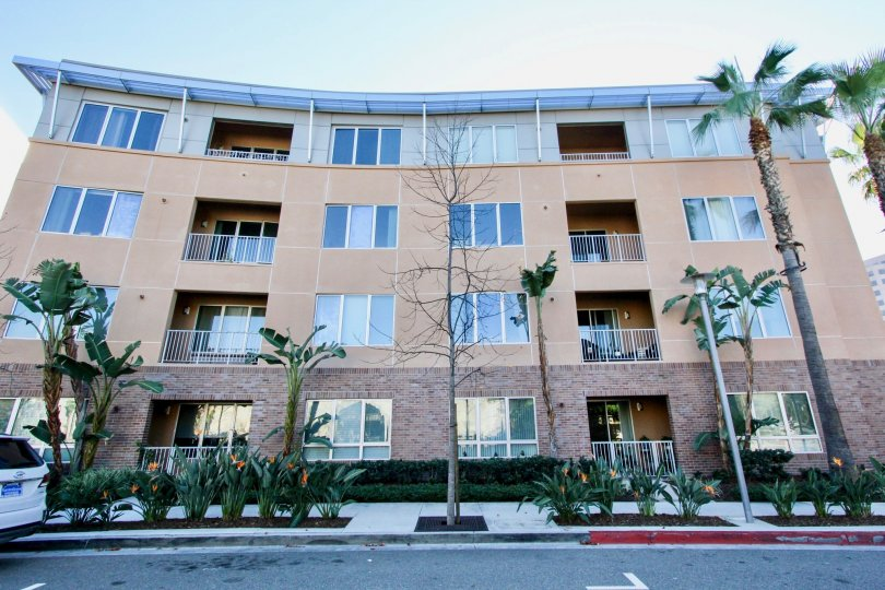 THE FLATS WITH PLANTS, TREES, GLASS WINDOWS, VIEW IS BEAUTIFUL WHICH IS LOCATED IN IRVINE