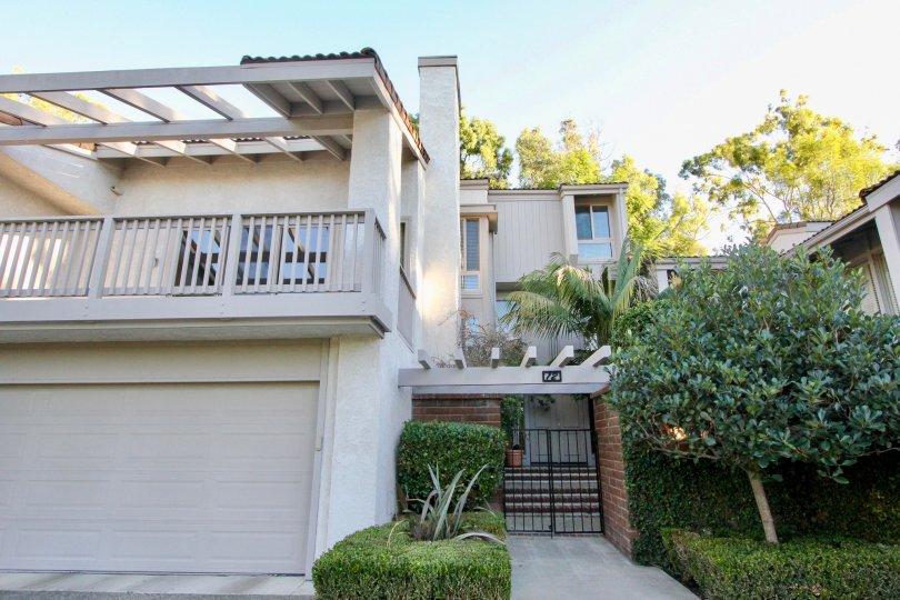 Beautiful garaged apartment living in Turtle Rock Crest in Irvine California.