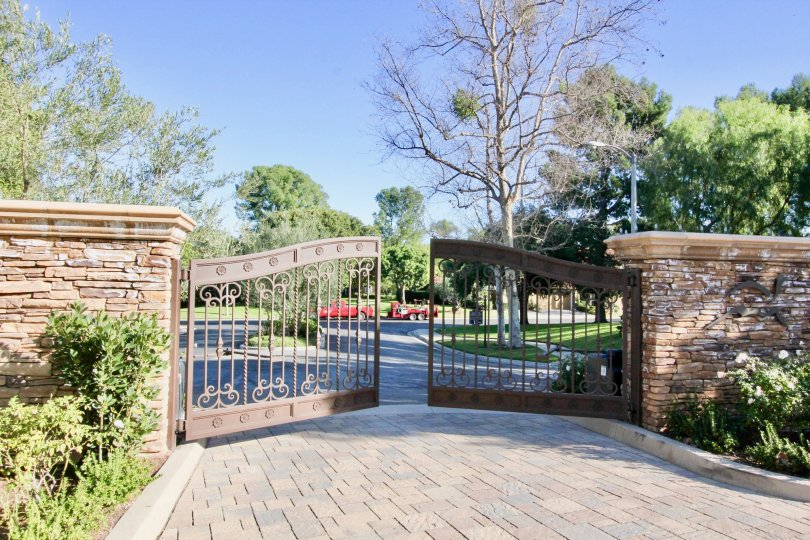 Gated community with gorgeous foliage and spacious parking